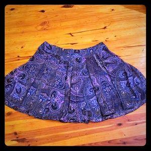 Size xl flowy pleated skirt